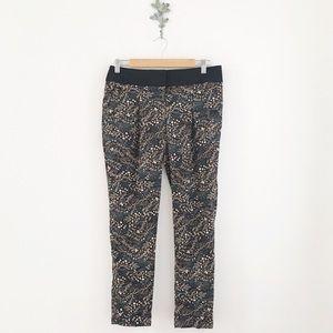 LOFT Floral Fluid Marisa Pant Size 2